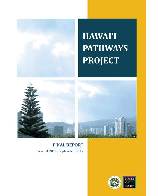 Hawai'i Pathways Project: Final Report (2018)